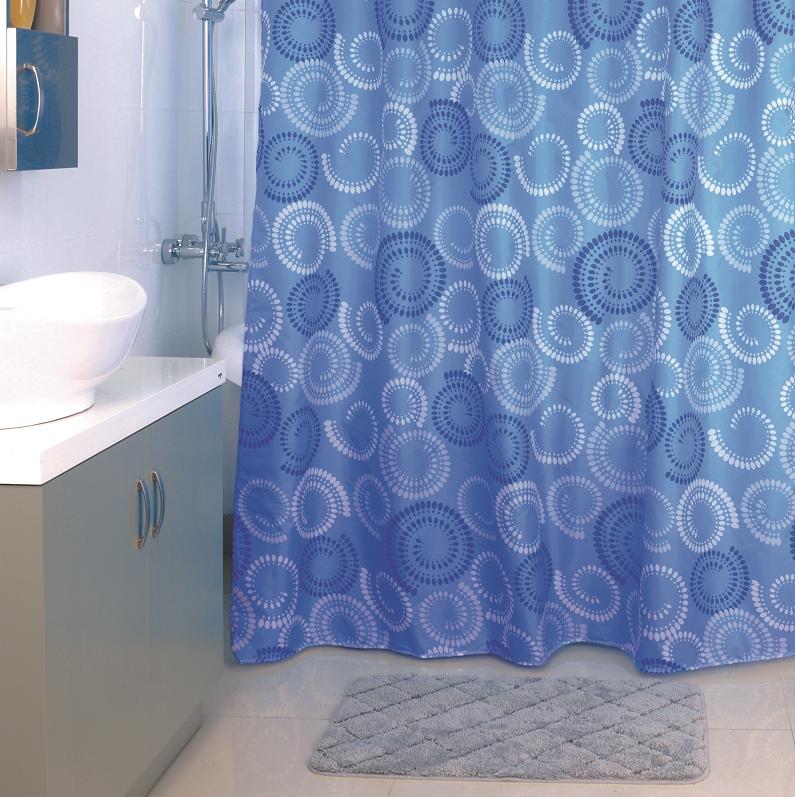Штора для ванной комнаты Milardo 900p180m11 штора для ванной комнаты milardo lovely phantom 503v180m11