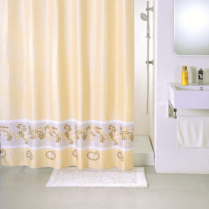 Штора для ванной комнаты Milardo Scmi013p штора для ванной комнаты milardo 535v180m11