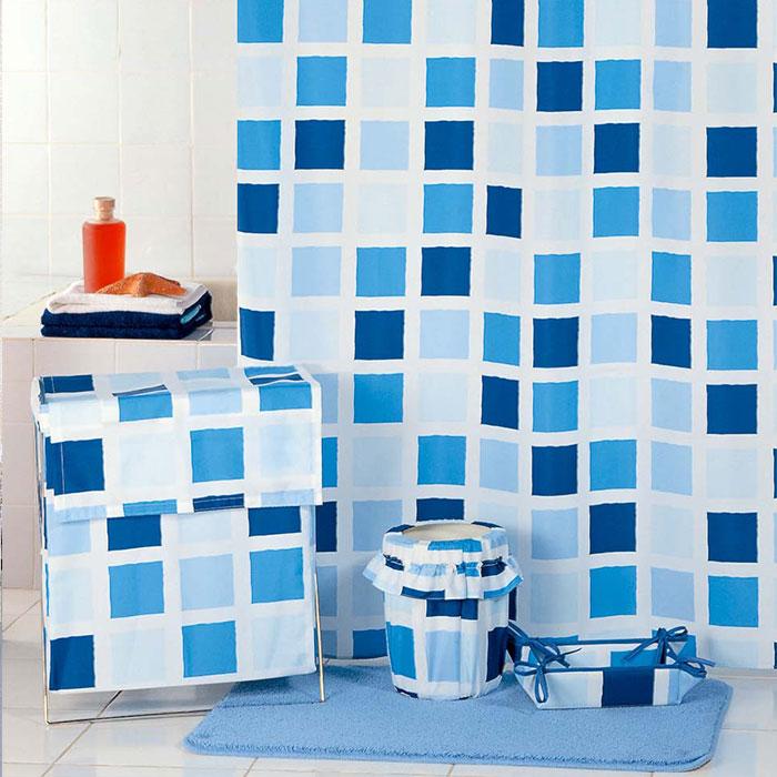 где купить Штора для ванной комнаты Milardo Scmi020p по лучшей цене