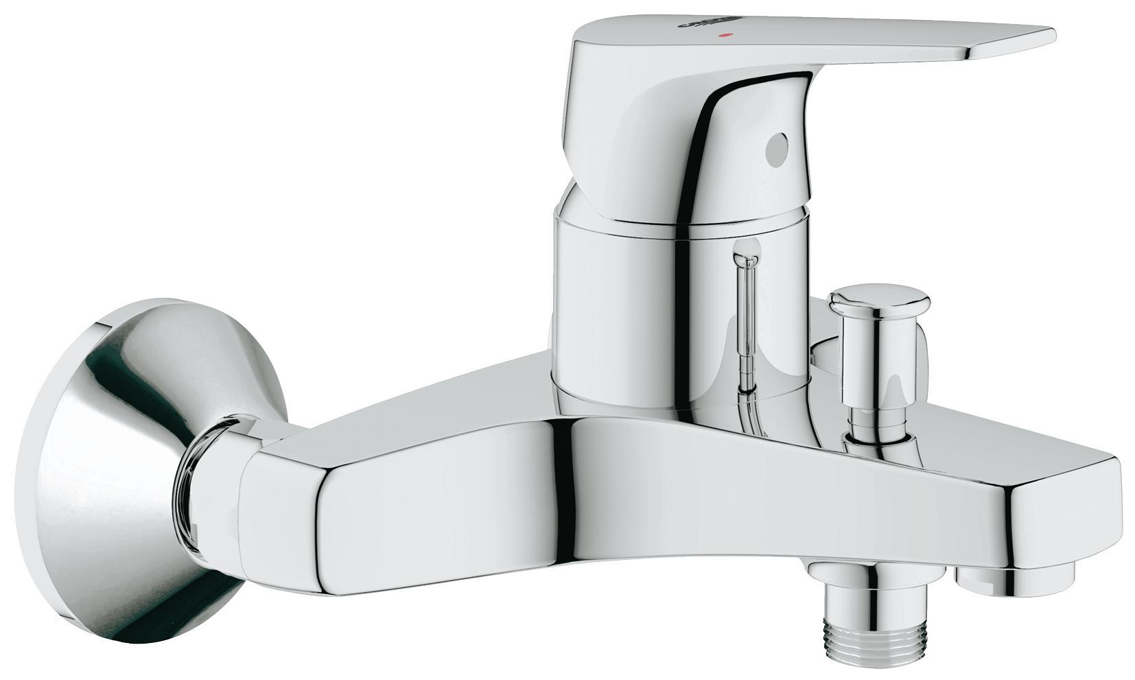 Смеситель для ванны Grohe Bauflow 32811000 смеситель для ванны универсальный am pm chic однорычажный цвет хром
