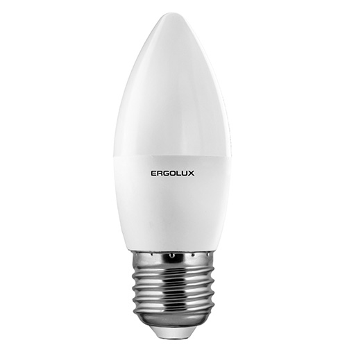 Лампа светодиодная Ergolux 12414 led-c35-5w-e27-4k