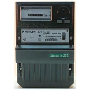 Счетчик электроэнергии ИНКОТЕКС МЕРКУРИЙ 230 АМ-02  счетчик э э инкотекс меркурий 201 5 однофазный однотарифный
