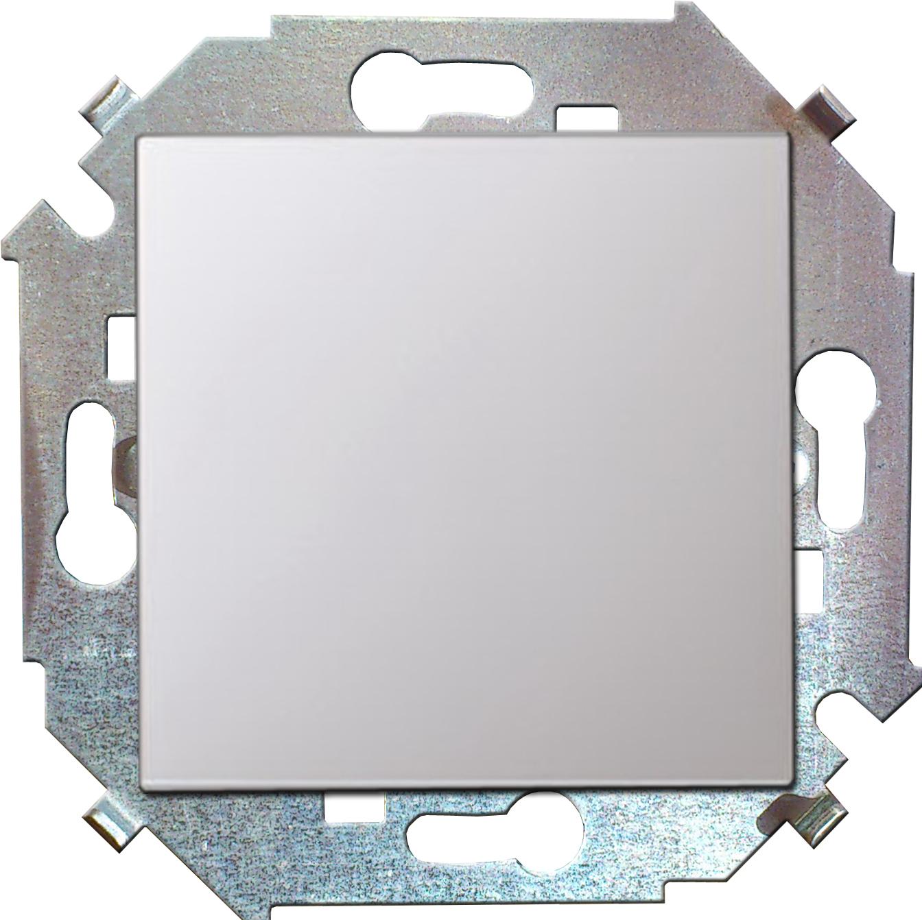 Переключатель Simon 15 1591201-030 simon simon15 aqua белый переключатель 1 клавишный с п наружный ip54 1594204 030