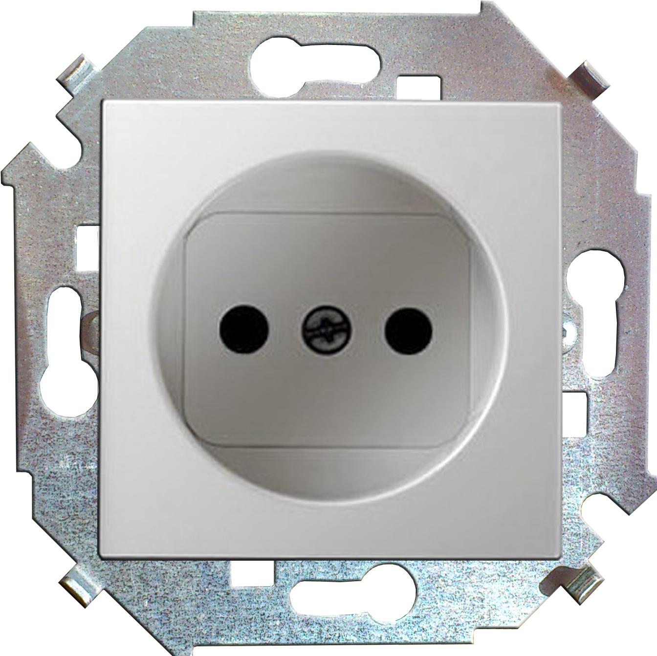 Розетка Simon 15 1591431-030 simon simon15 aqua белый переключатель 1 клавишный с п наружный ip54 1594204 030