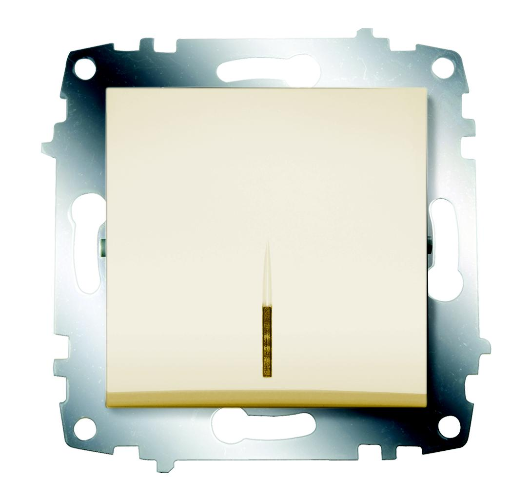 Выключатель Abb Cosmo 619-010300-201 gira gira мех выключатель 1 клавишный 3 х полюсный 010300