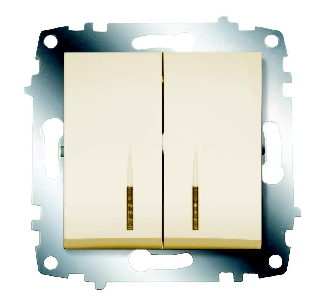 Выключатель Abb Cosmo 619-010300-203 выключатель abb 2cds211001r0164