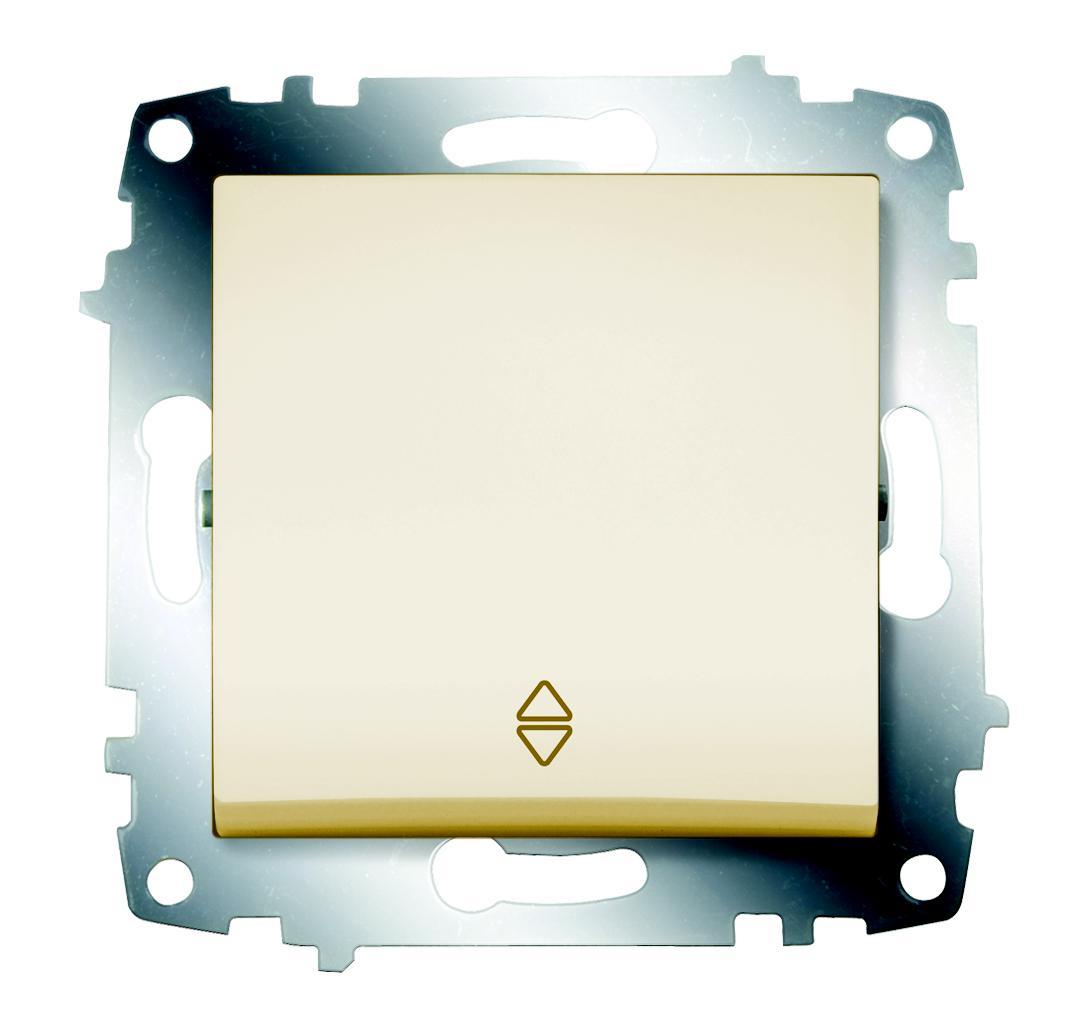 Переключатель Abb Cosmo 619-010300-209 gira gira мех выключатель 1 клавишный 3 х полюсный 010300