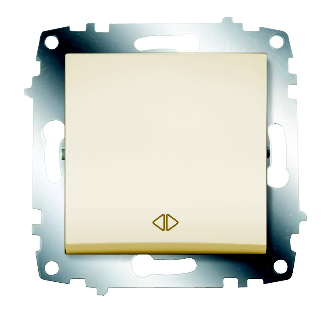Переключатель Abb Cosmo 619-010300-214 gira gira мех выключатель 1 клавишный 3 х полюсный 010300