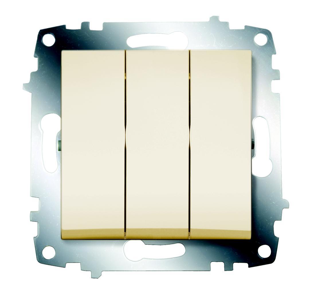 Выключатель Abb Cosmo 619-010300-254 gira gira мех выключатель 1 клавишный 3 х полюсный 010300