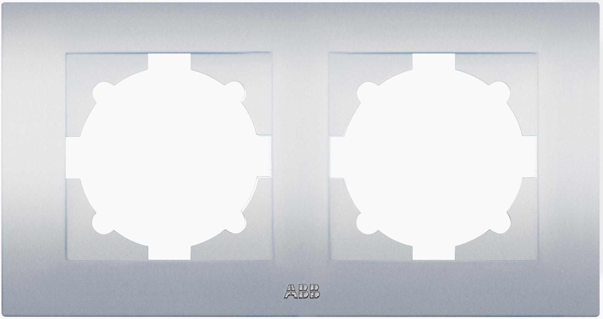 Рамка Abb Cosmo 612-011000-226 телефонная розетка abb bjb basic 55 шато 1 разъем цвет черный