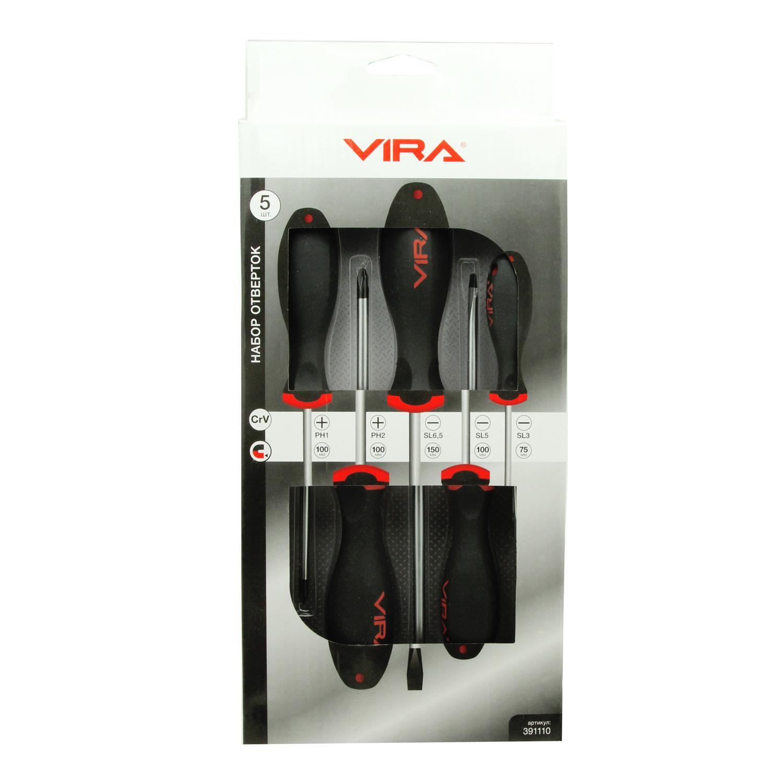 Набор отверток Vira 391110 gross 12164 набор отверток 6шт