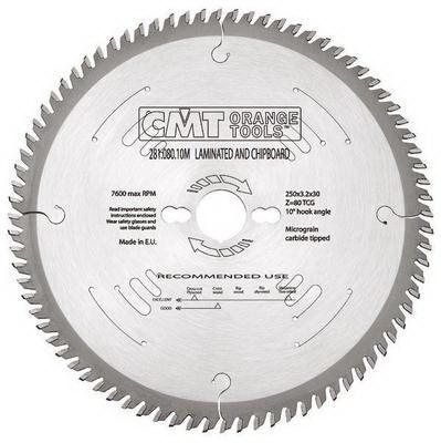 Диск пильный твердосплавный Cmt 281.080.10m