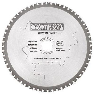 Диск пильный твердосплавный Cmt 226.060.10m диск пильный твердосплавный hammer 335х32 30мм 64 зуб