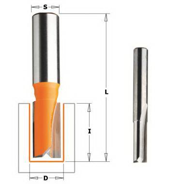Фреза Cmt Ф 12мм s 12мм i 25.4мм (911.620.11)