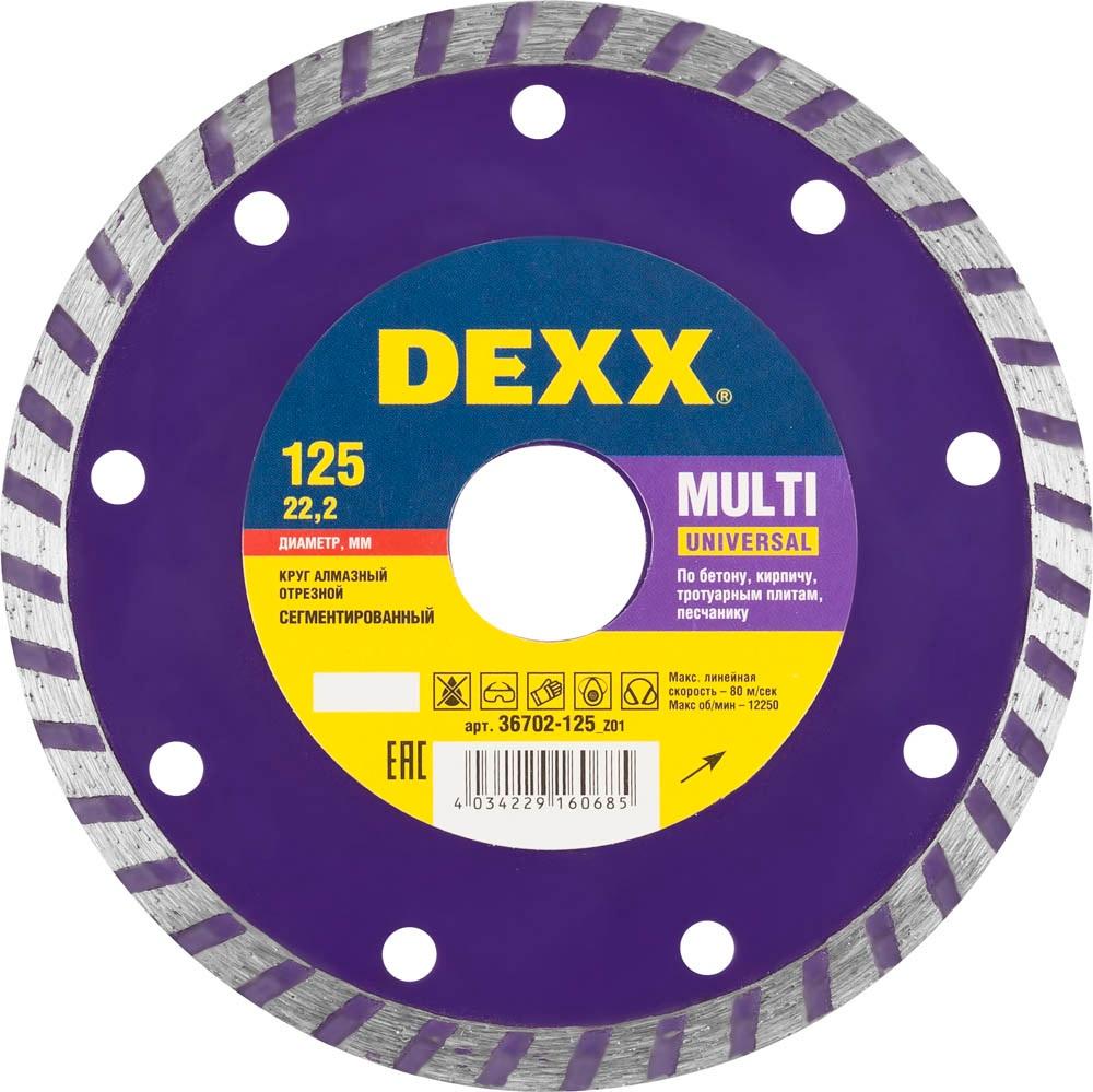 Круг алмазный Dexx 36702-125_z01