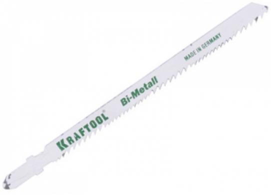 Пилки для лобзика Kraftool 159505-u пилки для лобзика по металлу для прямых пропилов bosch t118a 1 3 мм 5 шт