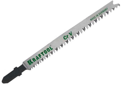 Пилки для лобзика Kraftool 159506-u пилки для лобзика по дереву набор 5 шт стандарт