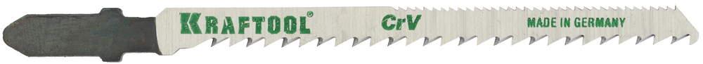 Пилки для лобзика Kraftool 159514-2.5-s5 пилки для лобзика по дереву для прямых пропилов bosch t101aif 2 30 мм 5 шт