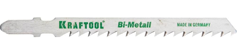 Пилки для лобзика Kraftool 159520-4 пилки для лобзика по дереву набор 5 шт стандарт