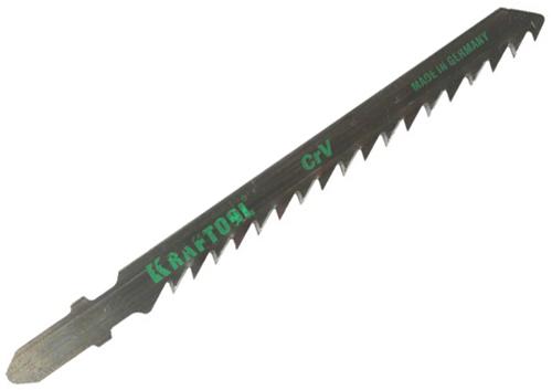 Пилки для лобзика Kraftool 159521-4-s5 пилки для лобзика по дереву для прямых пропилов bosch t101aif 2 30 мм 5 шт