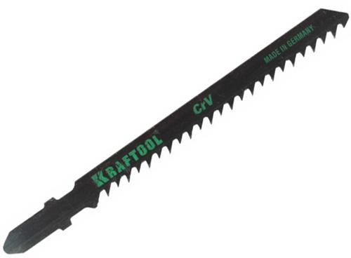 Пилки для лобзика Kraftool 159531-3-s5 пилки для лобзика по дереву для прямых пропилов bosch t101aif 2 30 мм 5 шт