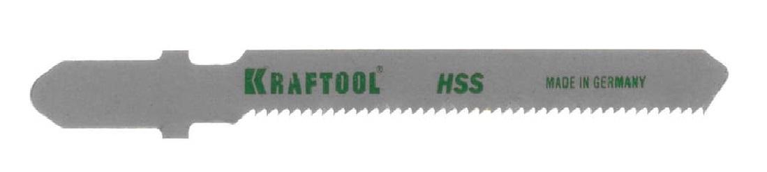 Пилки для лобзика Kraftool 159553-1,2 пилки для лобзика по металлу для прямых пропилов t318bf 2 шт 2 5 6 мм стандарт