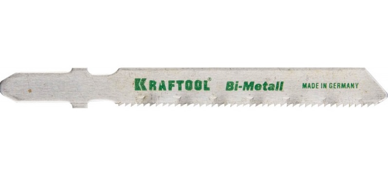 Пилки для лобзика Kraftool 159555-1,2 пилки для лобзика по ламинату для прямых пропилов практика t101br 3 30 мм обратный зуб 2 шт