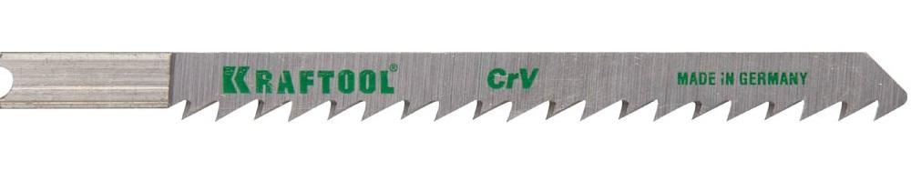 Пилки для лобзика Kraftool 159611-4 пилки для лобзика по дереву набор 5 шт стандарт