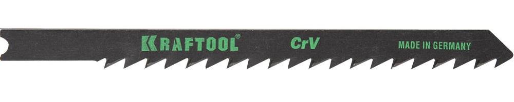 Пилки для лобзика Kraftool 159621-4 пилки для лобзика по дереву набор 5 шт стандарт
