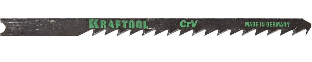 Пилки для лобзика Kraftool 159623-4 пилки для лобзика по дереву набор 5 шт стандарт