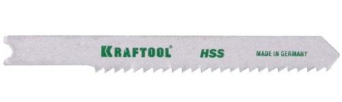 Пилки для лобзика Kraftool 159651-2 пилки для лобзика по ламинату для прямых пропилов практика t101br 3 30 мм обратный зуб 2 шт