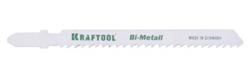 Пилки для лобзика Kraftool 159655-1,2 пилки для лобзика по металлу для прямых пропилов t318bf 2 шт 2 5 6 мм стандарт