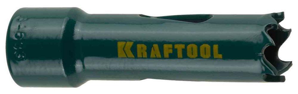 Коронка биметаллическая Kraftool 29521-038 коронка биметаллическая cobalt 8