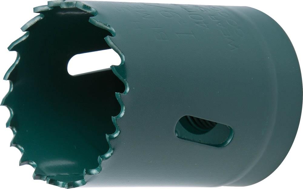 Коронка биметаллическая Kraftool 29521-040 коронка биметаллическая cobalt 8