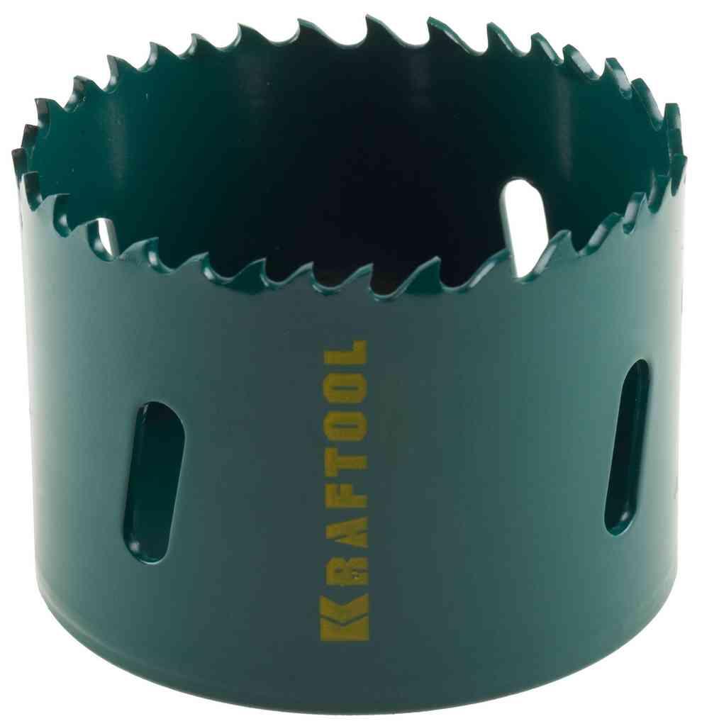 Коронка биметаллическая Kraftool 29521-057 коронка биметаллическая cobalt 8
