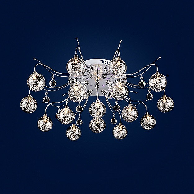 Люстра МАКСИСВЕТ 1-1705-16-cr-led y g4 цоколь лампы led g4 10pcs lot g4 g4 lampcrystal 163