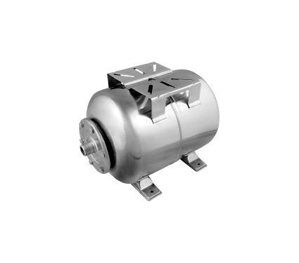 Гидроаккумулятор UNIPUMP 80 л (нерж.) горизонтальный