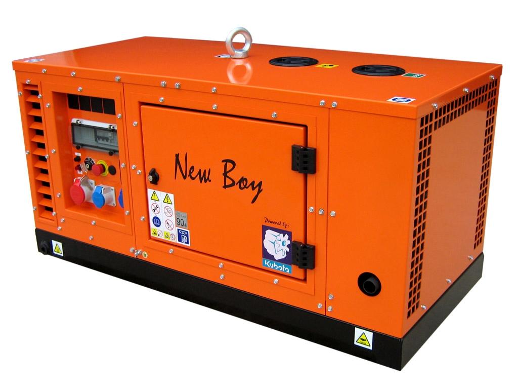Дизельный генератор Europower New boy eps133tde