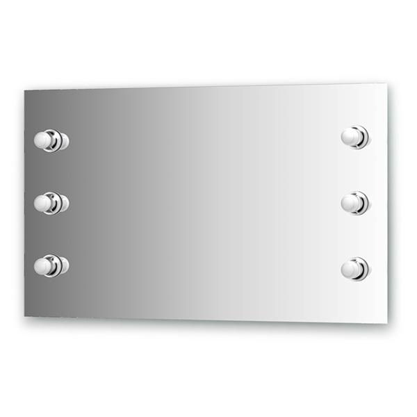 Зеркало Ellux Rondo ron-a6 9002 зеркало ellux rondo 130х75 см с 8 ю светильниками 320 w ron a8 9010