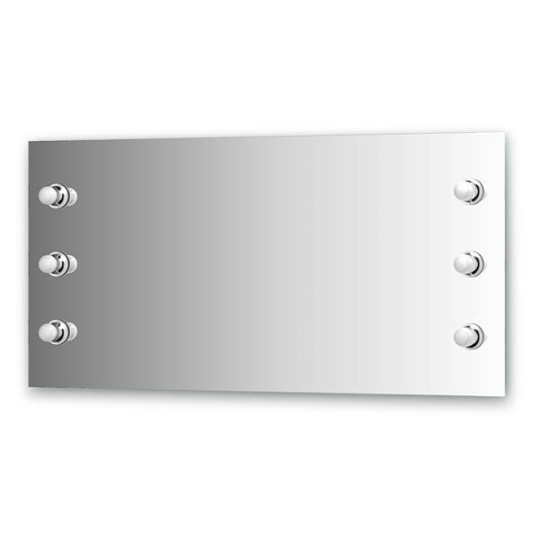 Зеркало Ellux Rondo ron-a6 9004 зеркало ellux rondo 130х75 см с 8 ю светильниками 320 w ron a8 9010