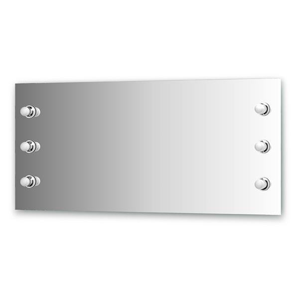Зеркало Ellux Rondo ron-a6 9005 зеркало ellux rondo 130х75 см с 8 ю светильниками 320 w ron a8 9010