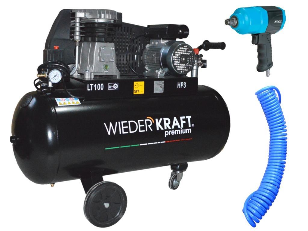 Набор пневмоинструмента Wiederkraft Wdk-premium 91032