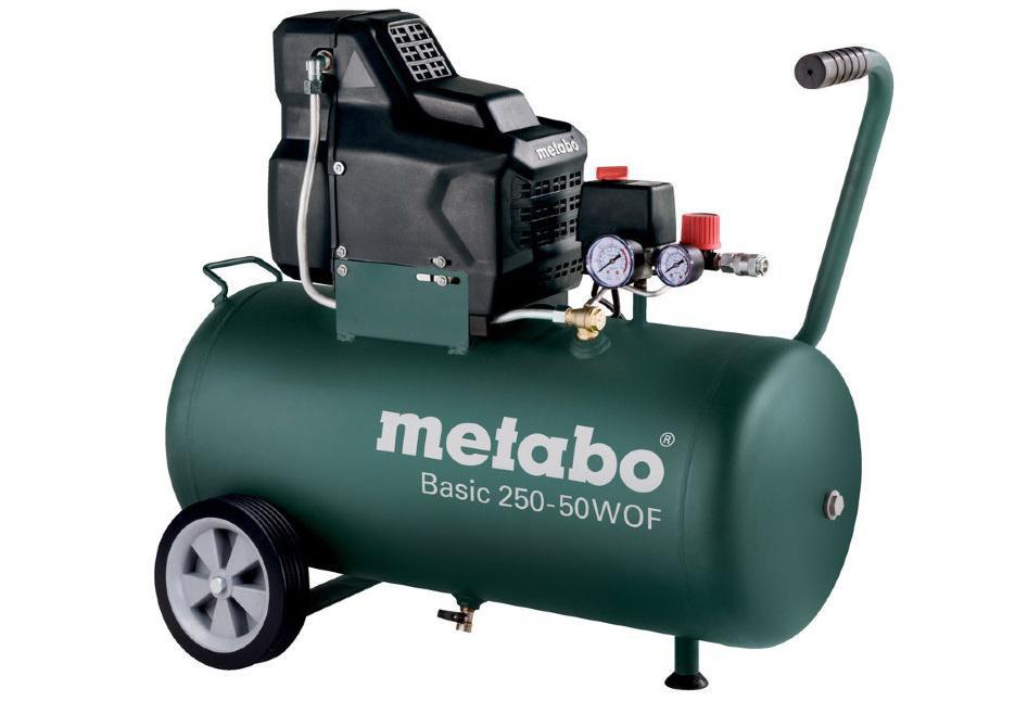 Компрессор Metabo Basic 250-50 w of (601535000) компрессор metabo basic 250 24 w of 601532000
