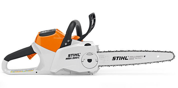 Пила цепная аккумуляторная Stihl Msa 200 c-bq