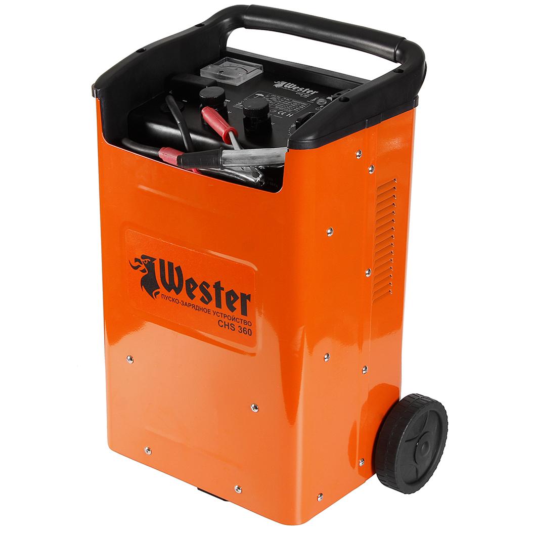 Устройство пуско-зарядное Wester Chs360 аккумулятор для легкового автомобиля fb specialist 60b24l fb7000 ач48 470en