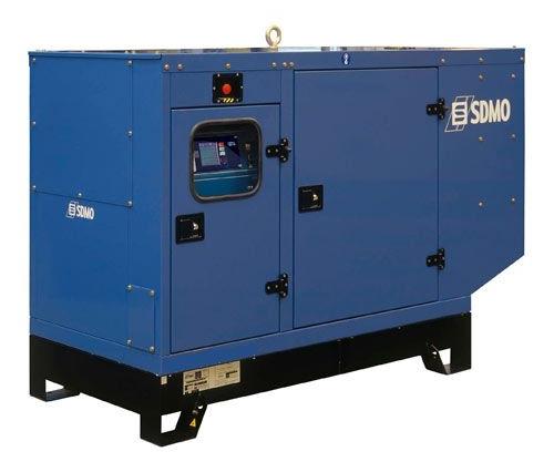 Дизельный генератор Sdmo J44k nexys silent sdmo vx 220 7 5h s
