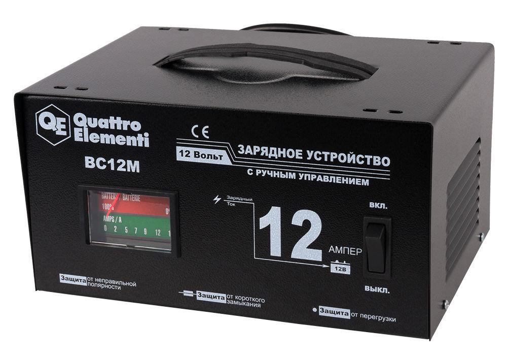 Устройство зарядное Quattro elementi 770-094 bc12m зарядноеустройство quattroelementi