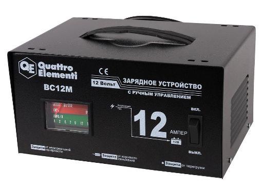 Устройство зарядное QUATTRO ELEMENTI 770-094 BC12M