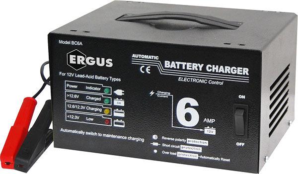 Фотографии - пуско-зарядное устройство Ergus BC6A (Северная Столица) .