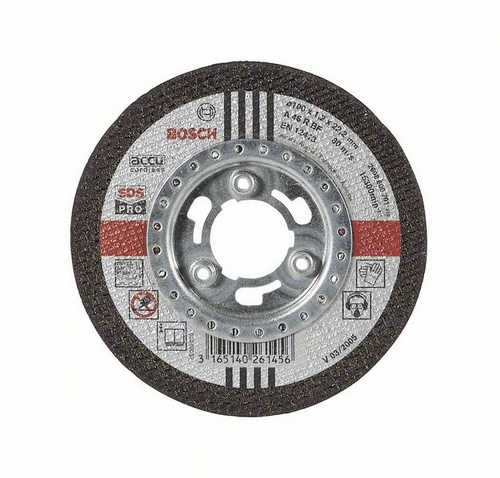 Круг отрезной Bosch Inox-sds-pro 100x1,2по нерж. (2.608.600.702) парогенератор mie stiro pro 300 inox